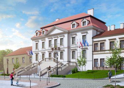 Starostwo Powiatowe  – Pałac Przychockich